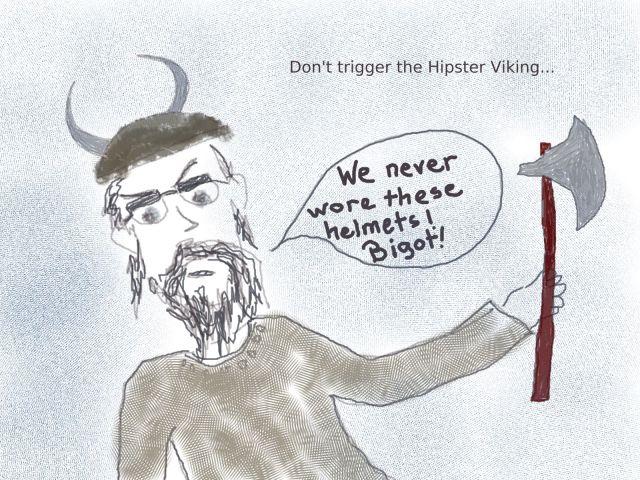 Hipster Viking